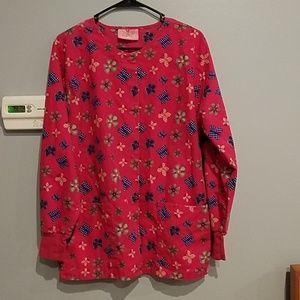 Jackets & Blazers - Butterfly scrub lab coat